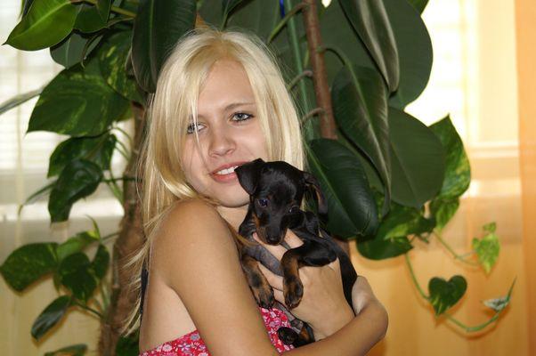 Julia mit Phönix