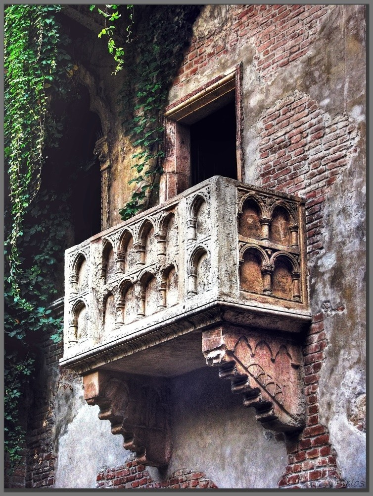 Julias Balkon