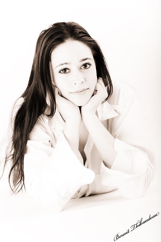 Julie ... une jeune danseuse