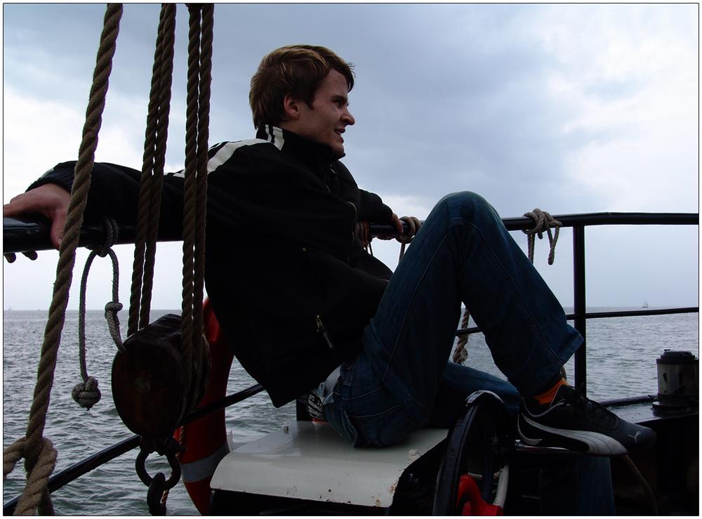 Julius auf See :)