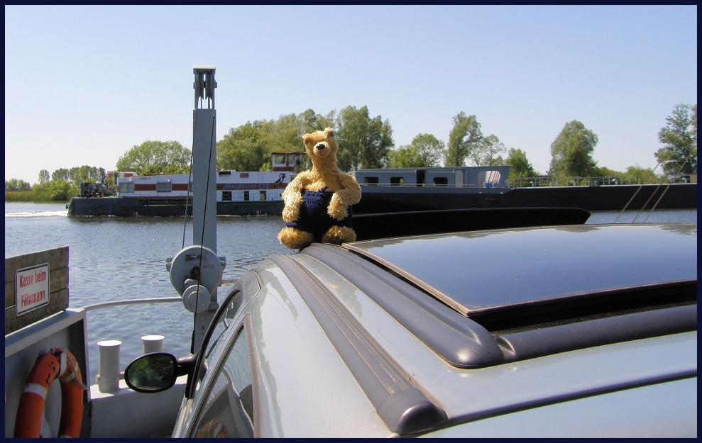 julius wollte mal wieder schiff fahren,aber auch land sehen .