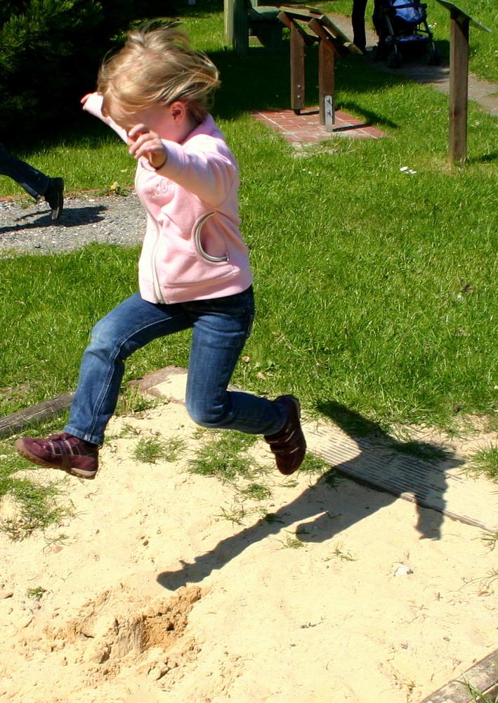 Jump and run!