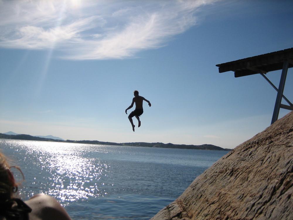 jump at the fjord...