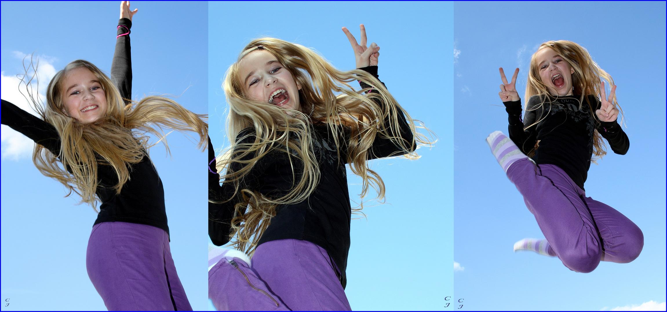 """ jump & fun """