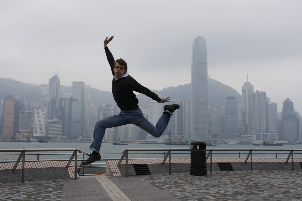 Jump in Hong Kong