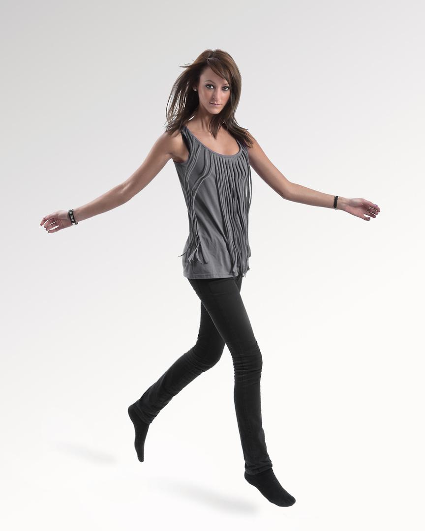jump like a lady ;)