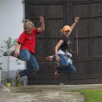 Jumping   pure Freude am Leben ...