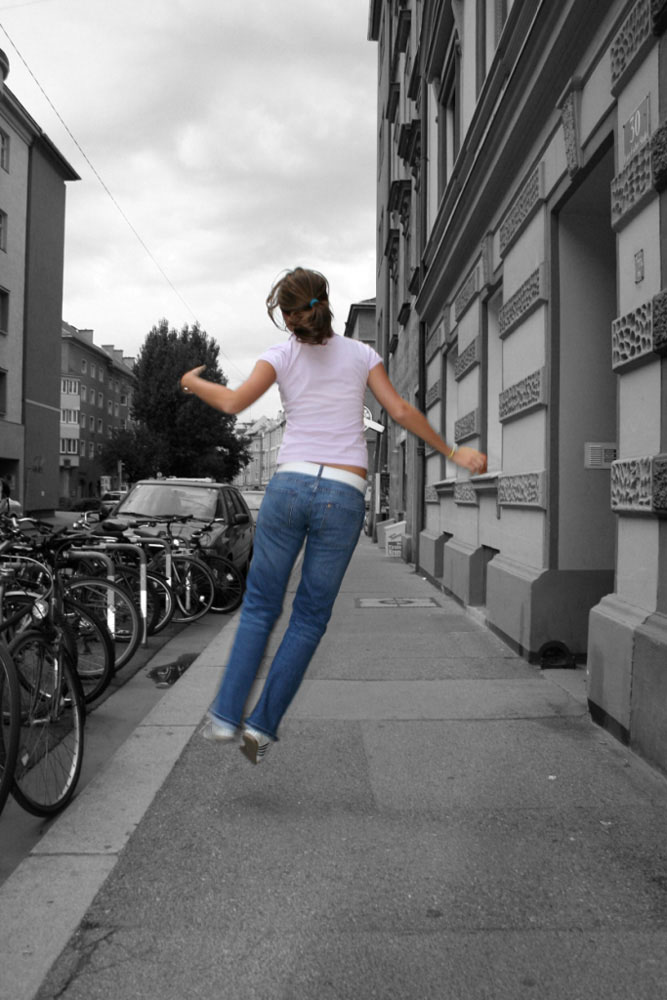 jumps of joy