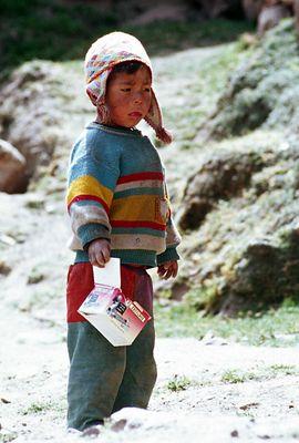 Junge aus Pitumarca