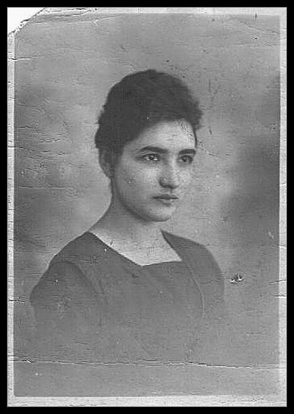 junge Frau 1922, 21-jährig