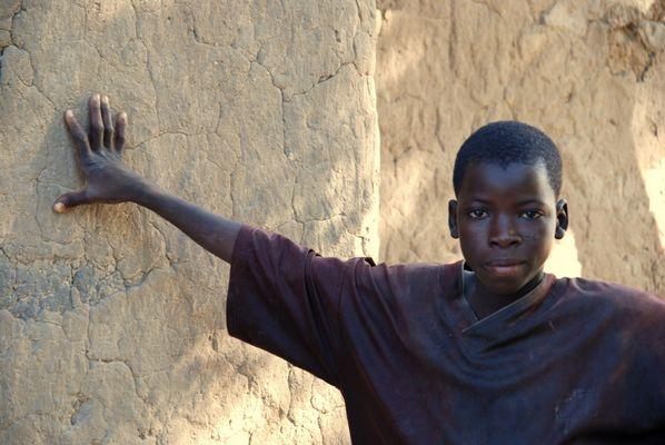 Junge in Bukina Faso