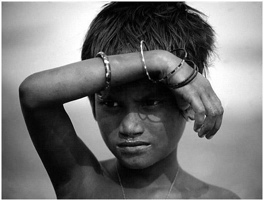 Junge in Mymensingh