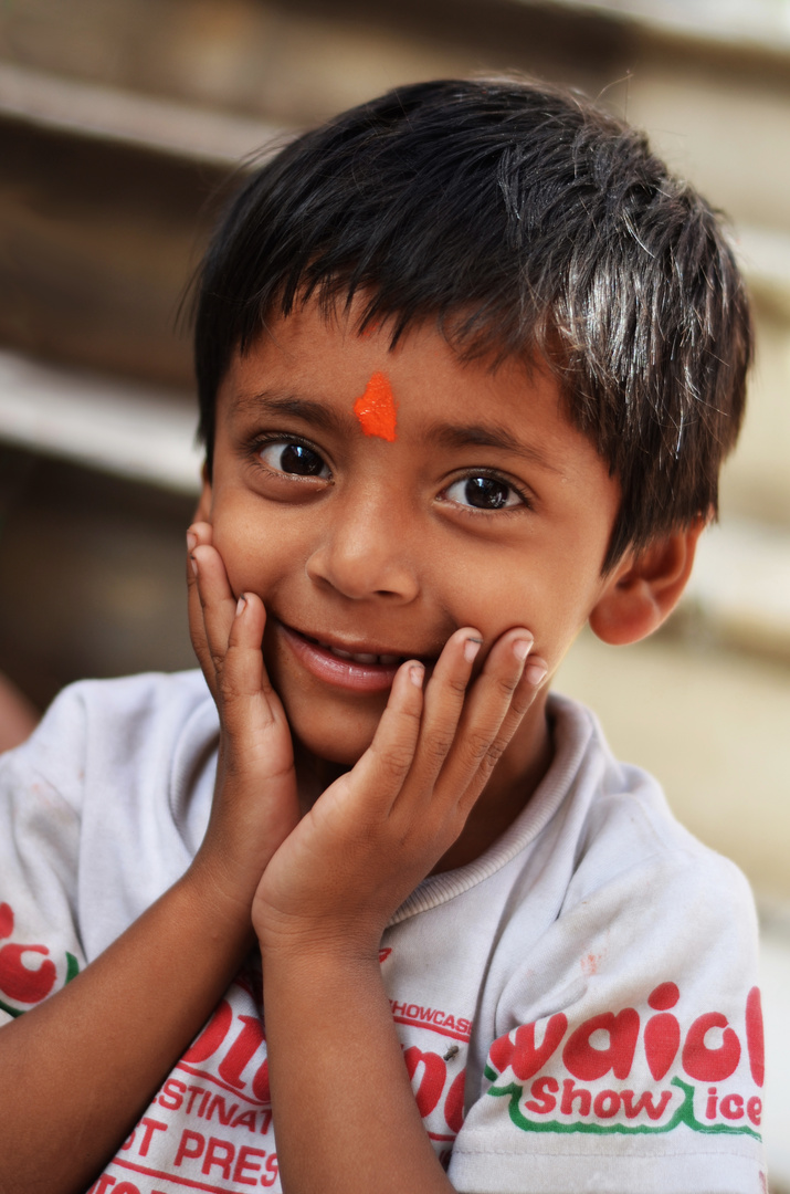 Junge in Pushkar