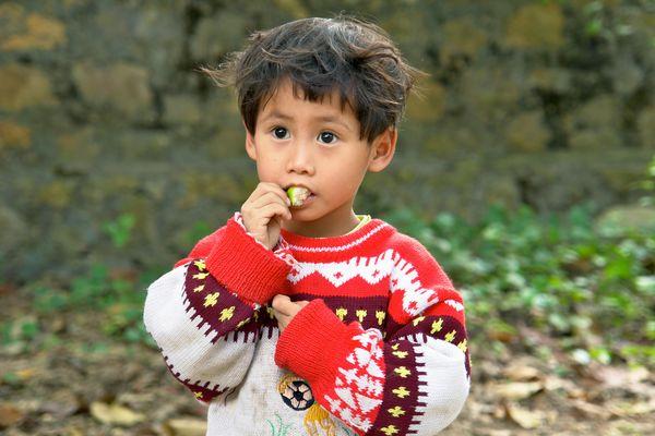 Junge in Vietnam
