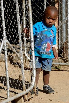 Junge in Windhoek