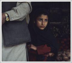 junge Kaschmiri in Kangan