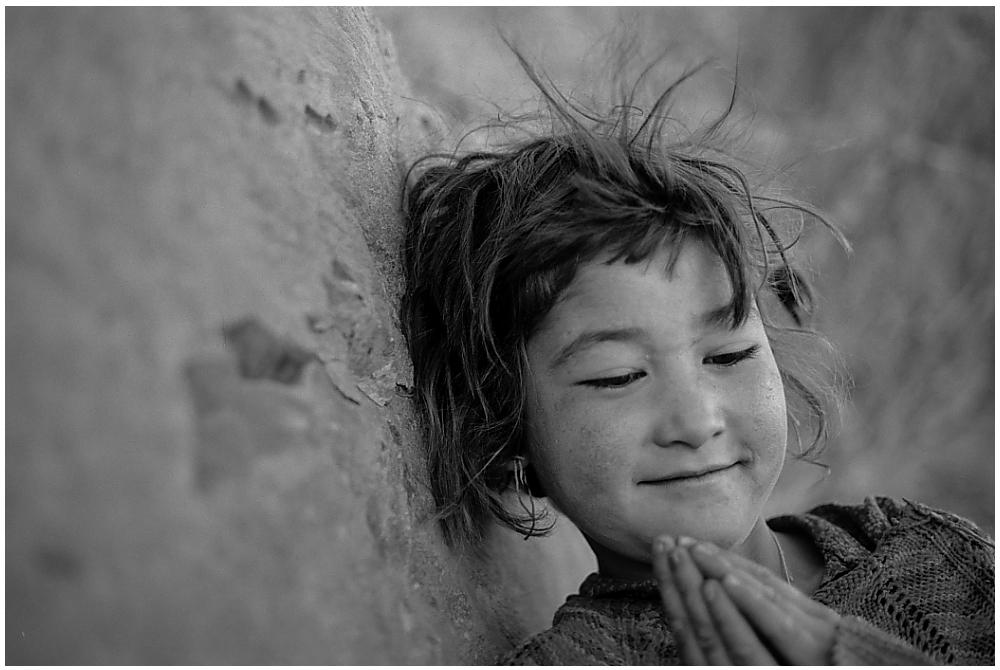 Junge Ladakhi aus Alchi
