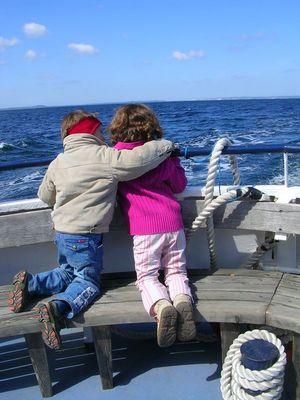 Junge Liebe fährt zur See.....!