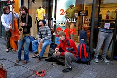..junge musiker...