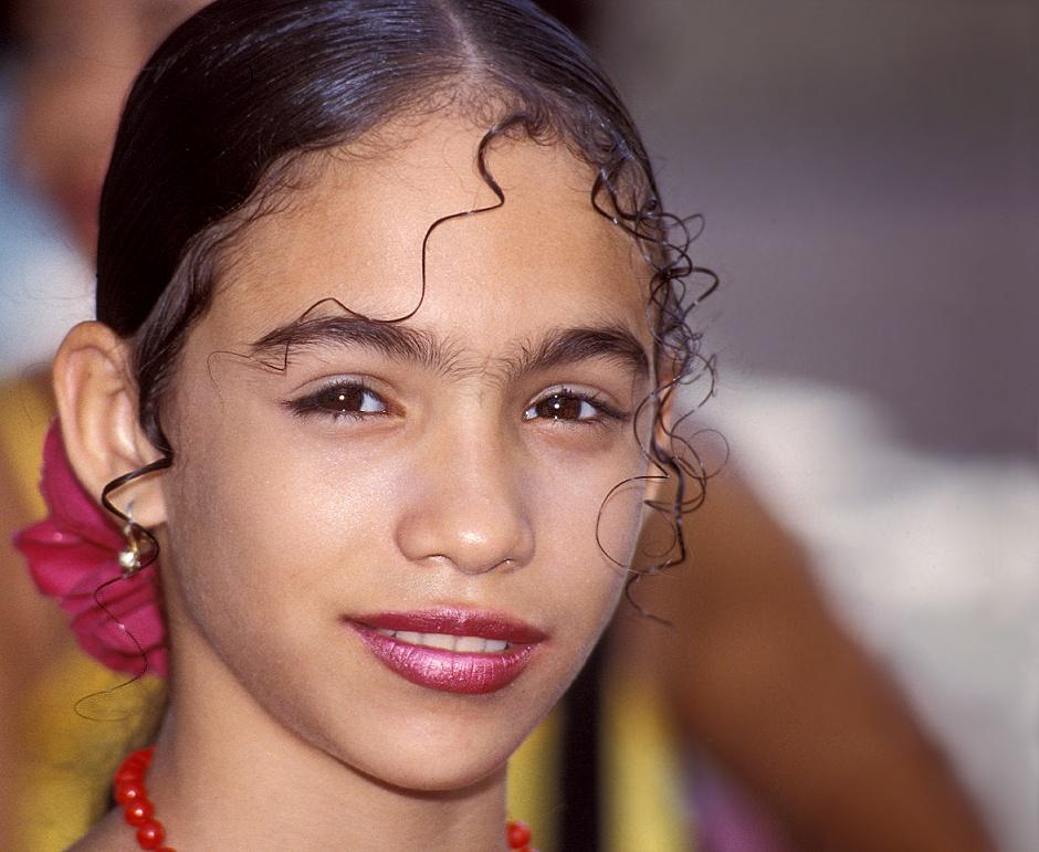Junge Tänzerin aus Kuba