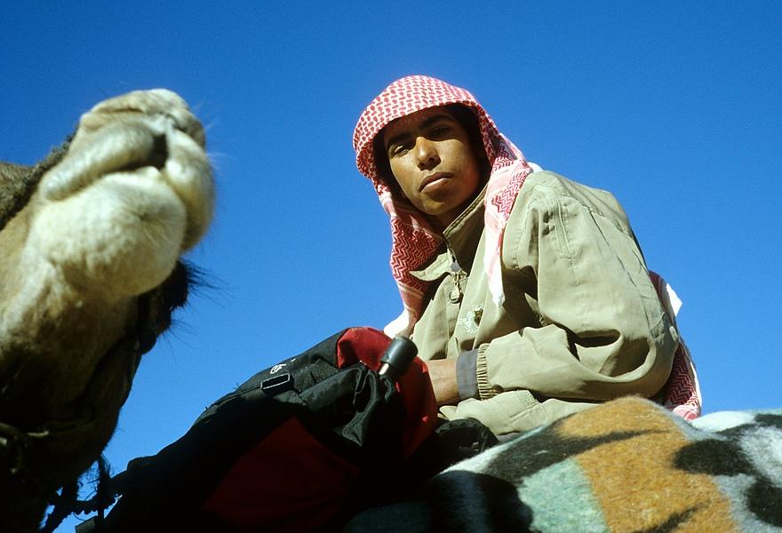 Junger Beduine ...