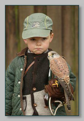Junger Falkner