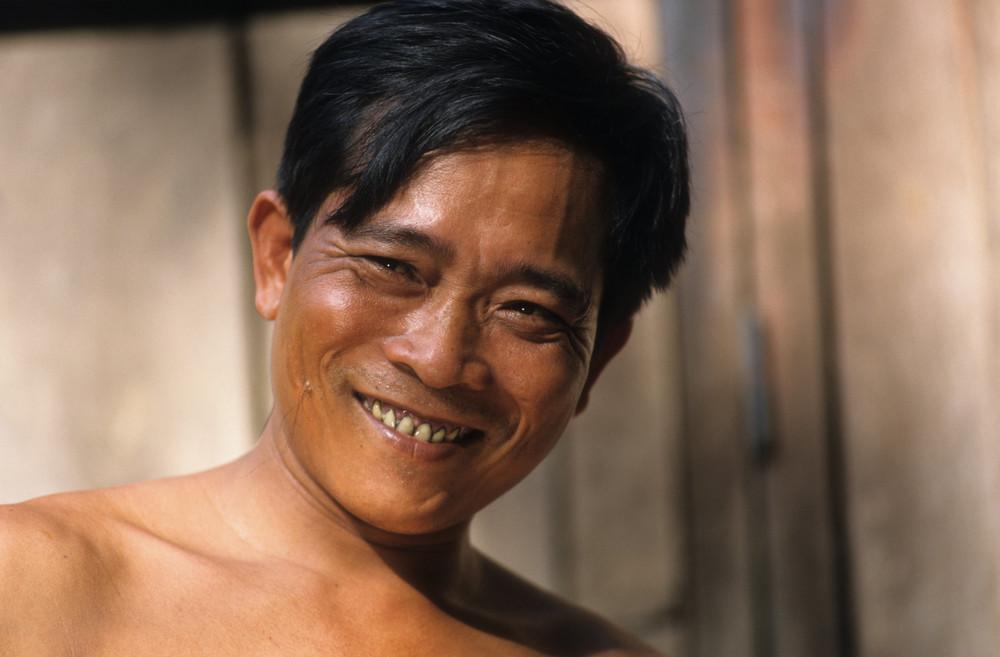 junger Mann aus Laos