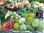 Junges Gemüse vom Mittwochsmarkt in Wangen/ Allgäu -2-