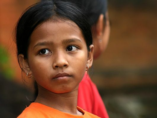 Junges Mädchen aus Bali