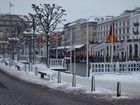 Jungfernstieg im Winter