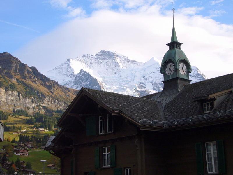 Jungfrau im Herbst