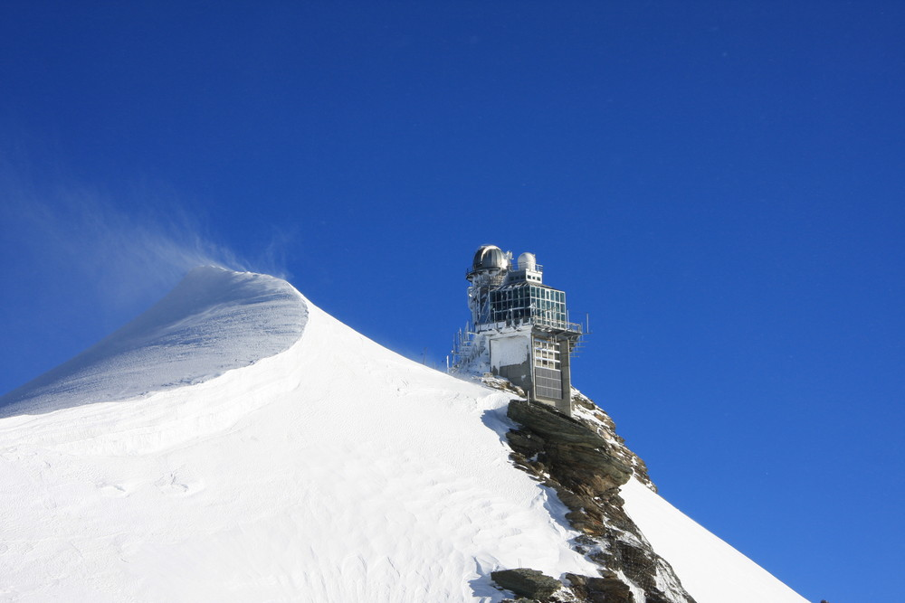 Jungfraujoch im Dez. 07