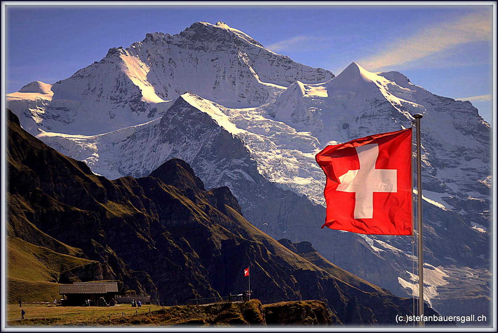 """Jungfrau+Silberhorn."""