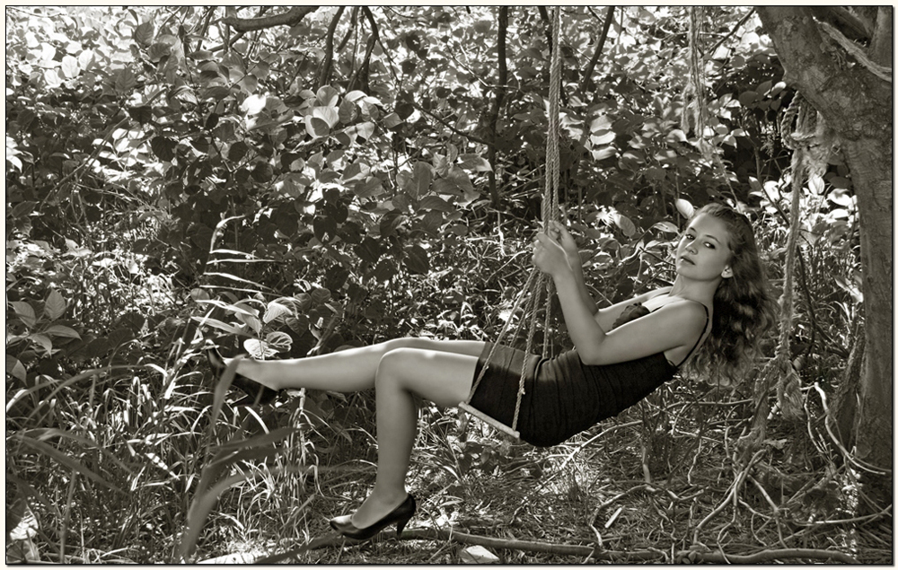 jungle - swinging.....