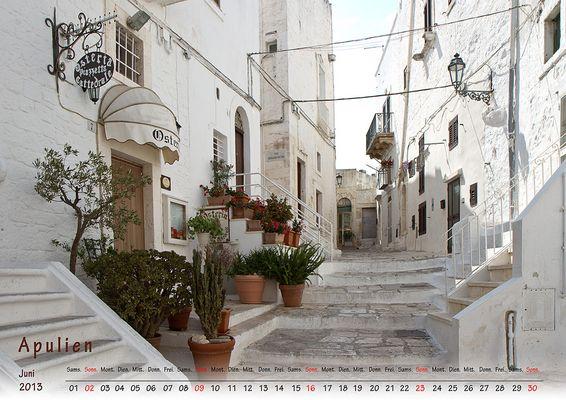 Juni 2013 Apulien