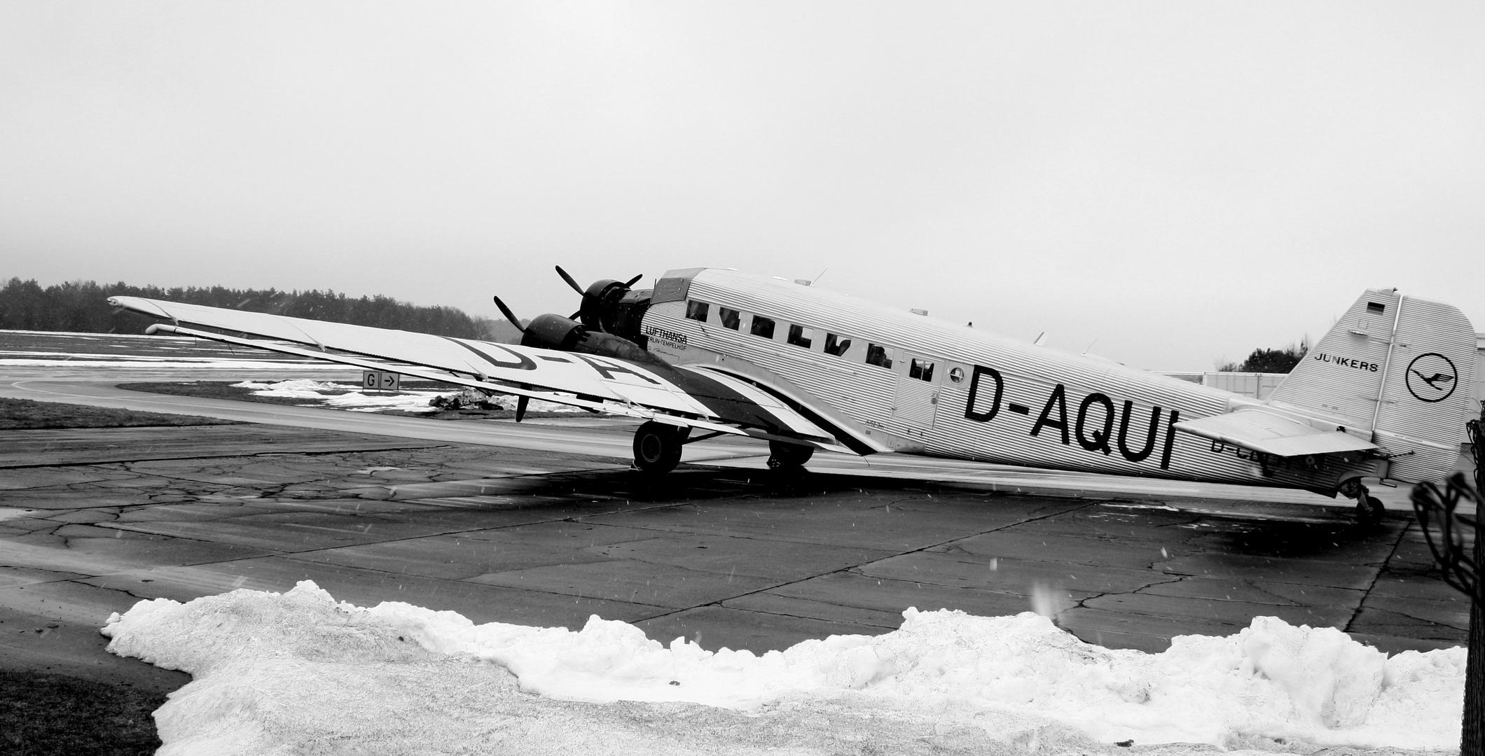 Junkers 52 D-AQUI