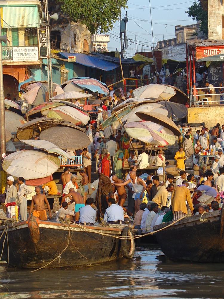 junto al Ganges