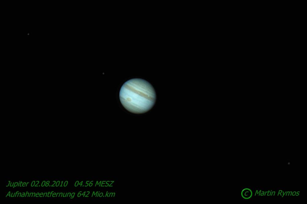 Jupiter 02.08.2010 mit DSLR