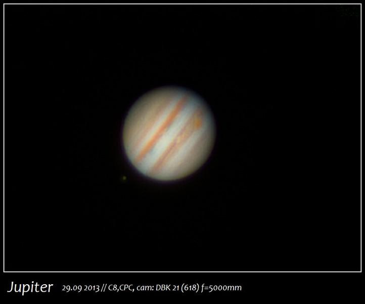 Jupiter 29.09.2013