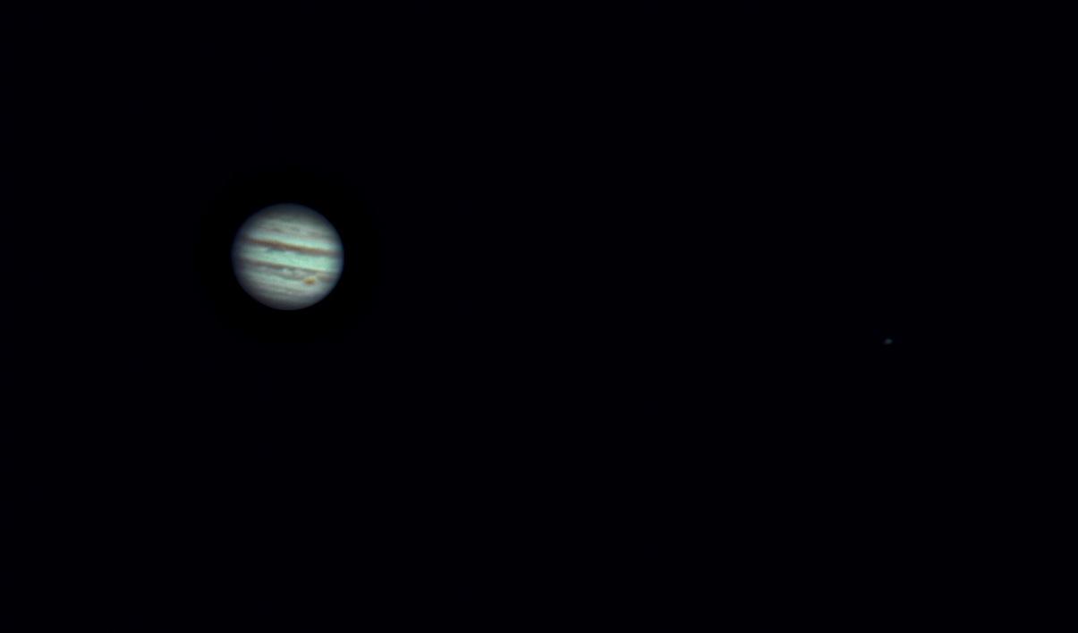 Jupiter am 02.04.2014 um 21:29 Uhr