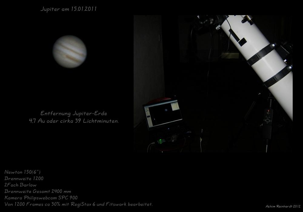 Jupiter am 15.01.2012