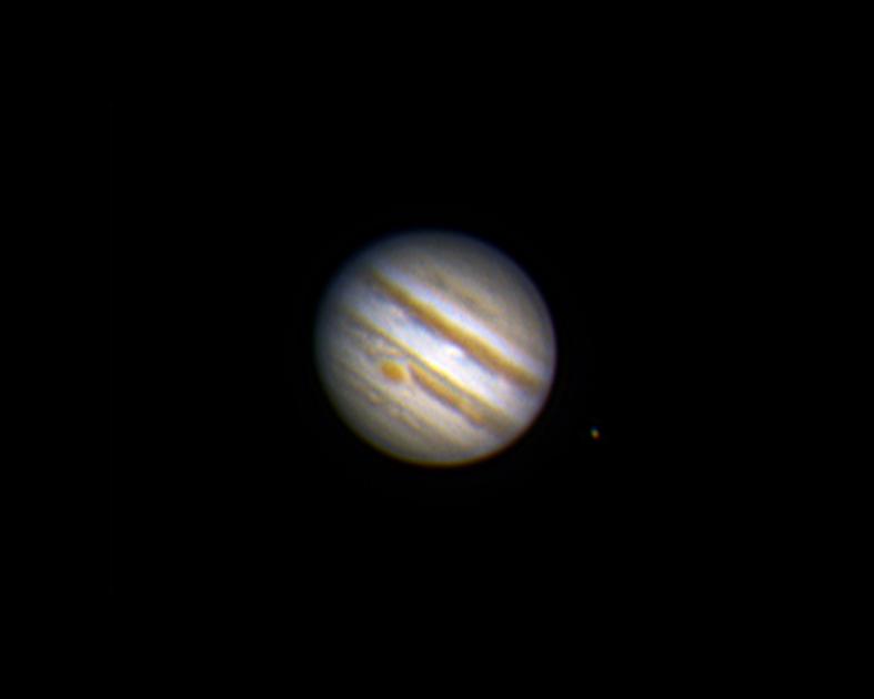 Jupiter am 16.04.2014, 22:02 Uhr