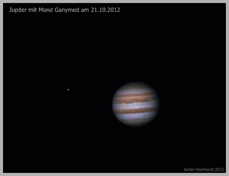 Jupiter am 21.10.2012