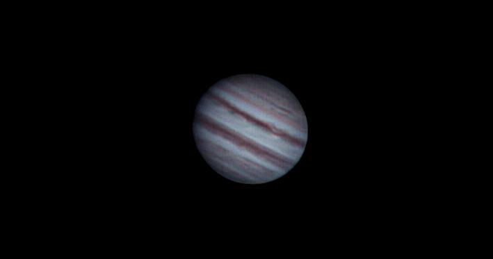 Jupiter am 29.03.2014 um 20:21 Uhr