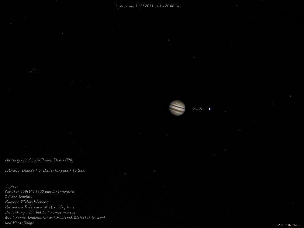 Jupiter am Abend