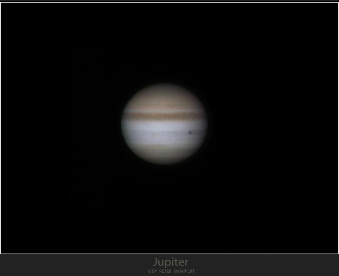 Jupiter heute morgen