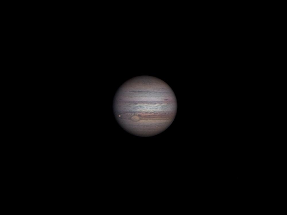 Jupiter mit Io 15.1.2012 / 18:55 MEZ