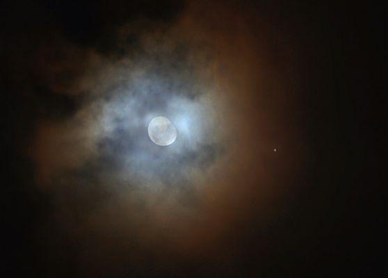 Jupiter-Mond-Konjunktion am 02.11.2012