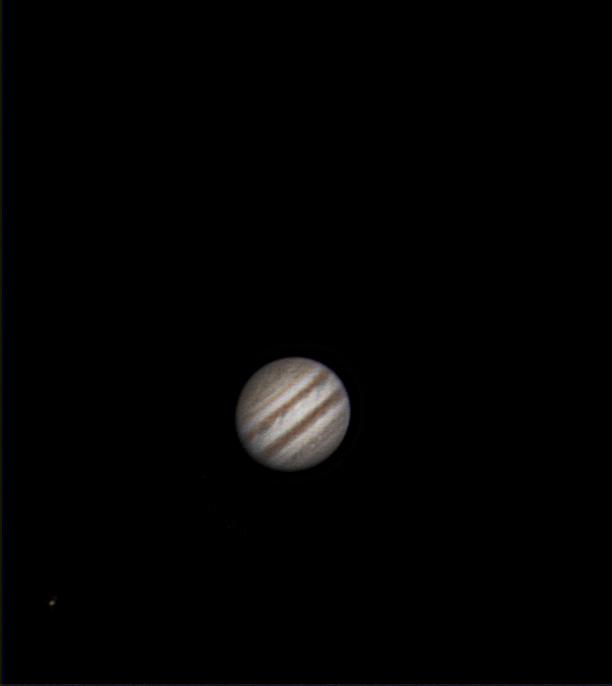 Jupiter und Io 27.04.2014, 21:29 Uhr