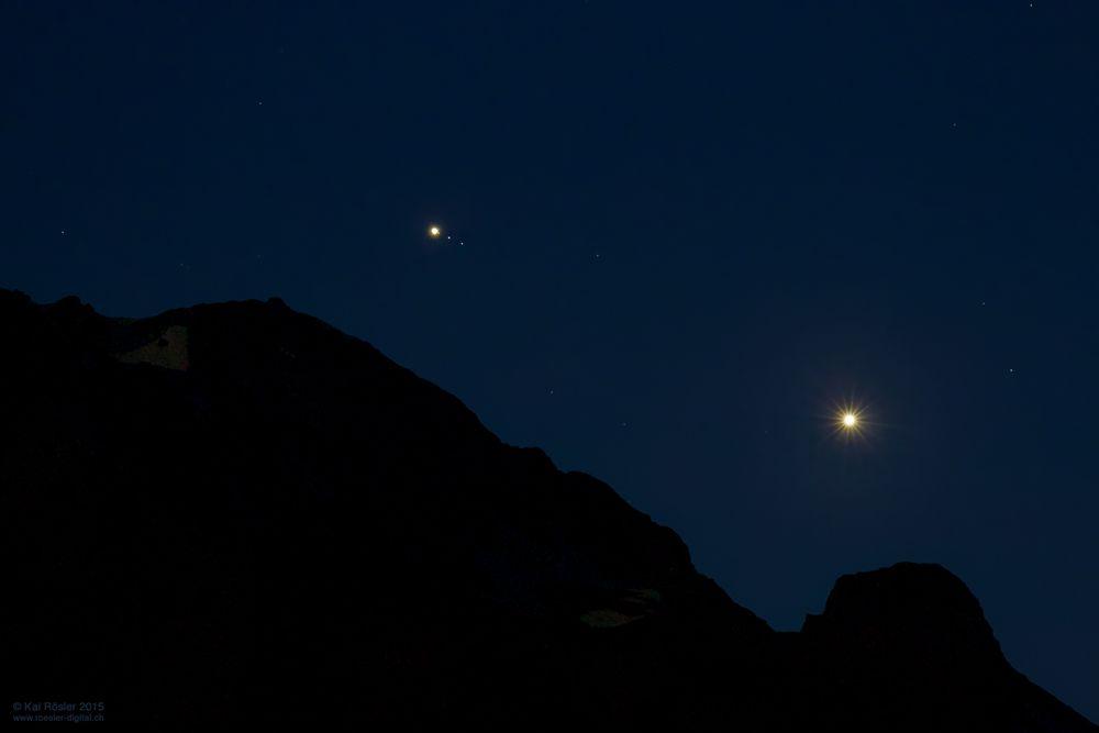 Jupiter und Venus
